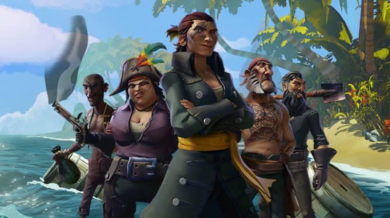 The Game Awards 2017 - új trailert és dátumot kapott a Sea of Thieves bevezetőkép