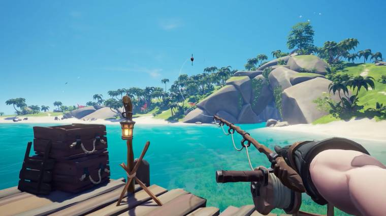 Sea of Thieves - vadászatot és horgászatot is hoz a következő frissítés bevezetőkép