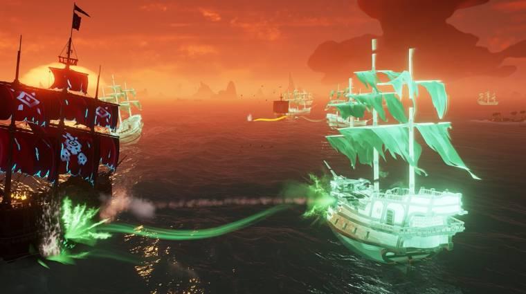 Szellemhajók járják már a Sea of Thieves vizeit bevezetőkép