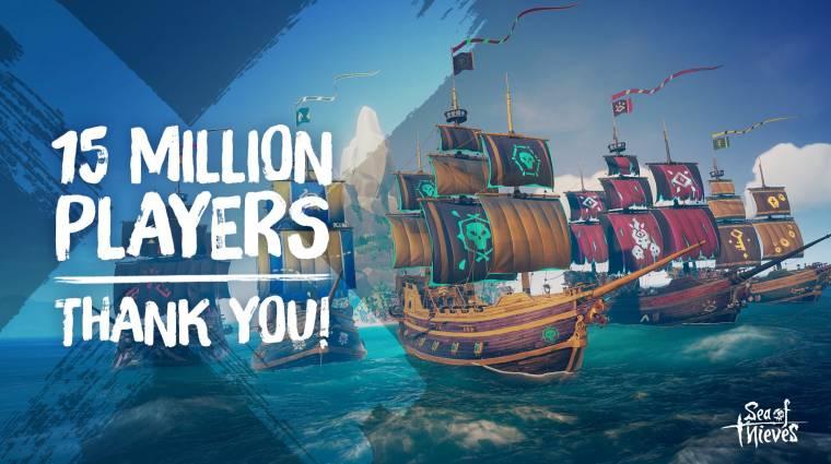 Már 15 millió játékos látogatta meg a Sea of Thieves tengereit bevezetőkép