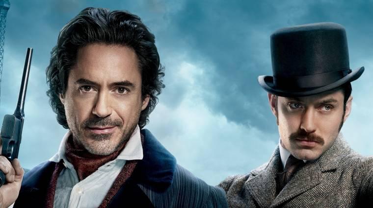 Hivatalos: ekkor jön a Sherlock Holmes 3! kép