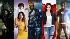 Folytatódik a The Flash, a Zöld íjász, A holnap legendái és a Supergirl is kép