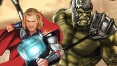 Thor és Hulk együtt zúznak a Ragnarok első fotóján kép
