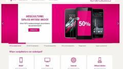 Újdonságok a Telekom weboldalán kép