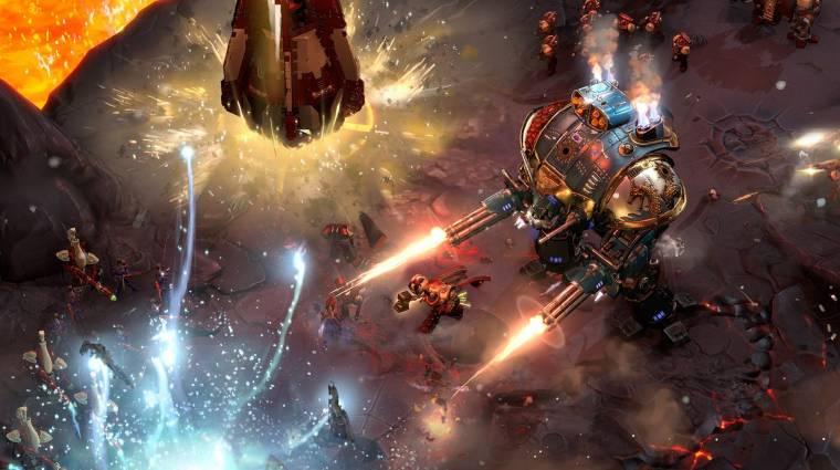 Warhammer 40,000: Dawn of War III - nem frissül tovább, mert kevesen játszanak vele bevezetőkép