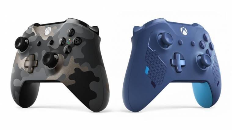 Gamescom 2019 - két új, különleges dizájnú Xbox kontroller érkezik bevezetőkép