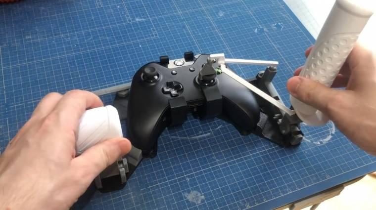 Így lehet egy Xbox One kontrollerből gázkaros botkormányt barkácsolni bevezetőkép