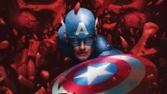 Mikor minden remény elfogy majd, Amerika Kapitány vére menti meg a világot kép