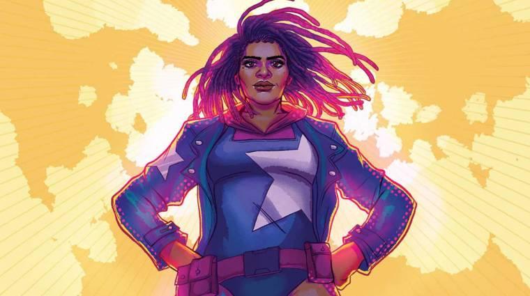 A Marvel bemutatta a sokadik új Amerika Kapitányt bevezetőkép