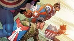 Egyesíti erejét a Marvel öt új Amerika Kapitánya kép
