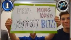 Újabb Hongkongért tüntető játékosokat tiltott el a Blizzard kép