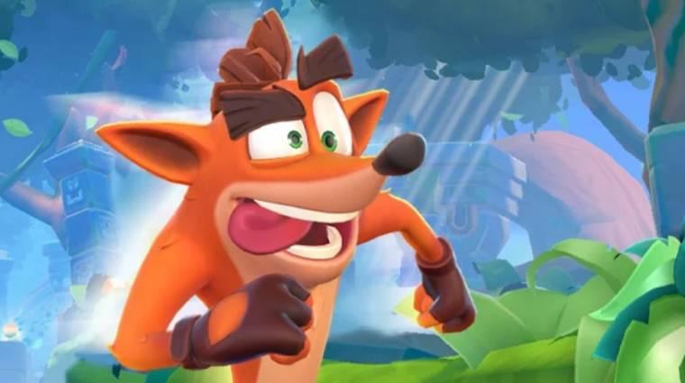 Egyes régiókban már elérhető az új Crash Bandicoot mobiljáték bevezetőkép