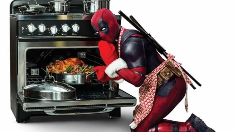 Deadpool ezekkel a poszterekkel már az ünnepekre készülődik kép