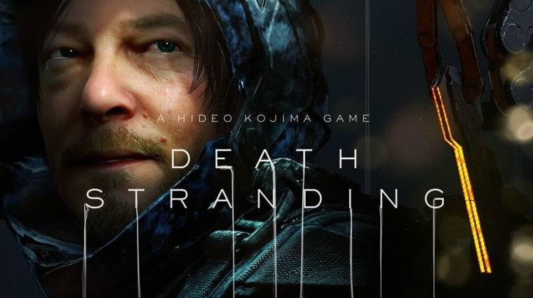 Death Stranding - Kojima világkörüli turnéra indul, hogy népszerűsítse játékát bevezetőkép