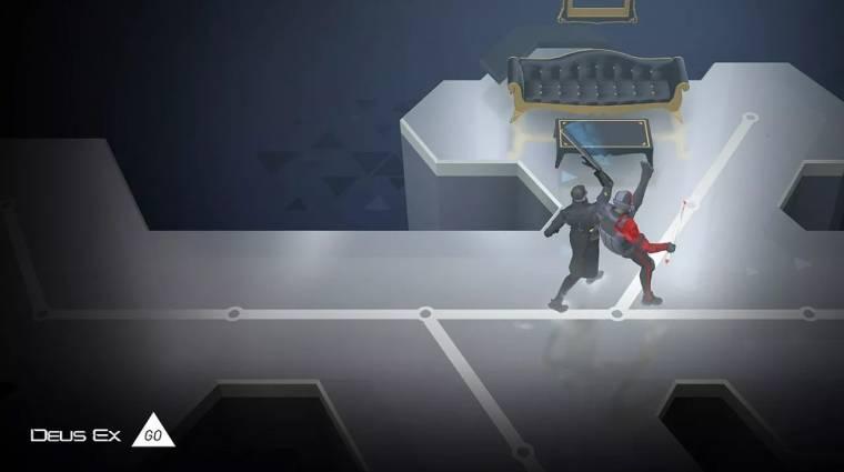 Deus Ex GO bejelentés - Adam Jensen is mobilra költözik bevezetőkép
