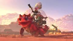 Dota 2 - egy furcsa lényen lovagoló, méretes puskát lóbáló néni lesz a következő hős kép