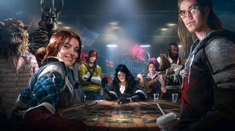 Gwent: The Witcher Card Game - csúszik a zárt bétateszt bevezetőkép