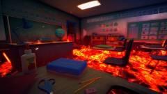 Hot Lava - 6 percnyi játékmenet a láva borította suliban kép