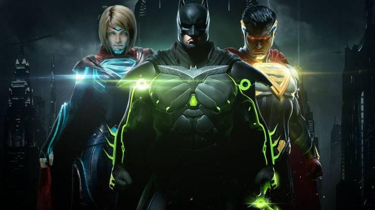 Injustice 2 - mobilokra is jön, itt a gameplay videó bevezetőkép