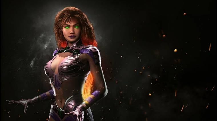 Injustice 2 - akrobatikus kombókkal köszön be Starfire bevezetőkép