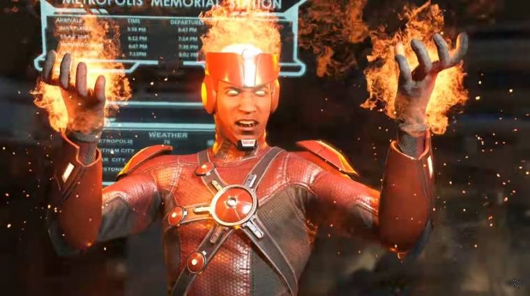 Injustice 2 - teljes értékű előzetest kapott az új karakter bevezetőkép