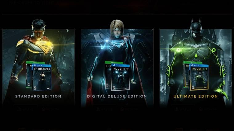 Injustice 2 - bemutatkoztak az első DLC karakterek bevezetőkép