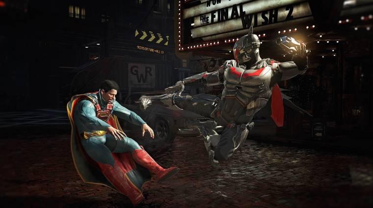 Ilyen lenne az Injustice 2 a Mortal Kombat X-Ray támadásaival bevezetőkép