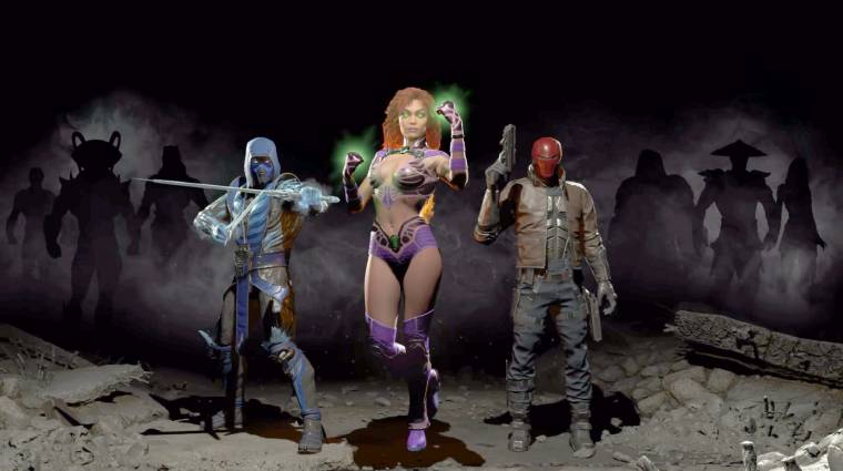Injustice 2 - megérkezett Starfire bevezetőkép