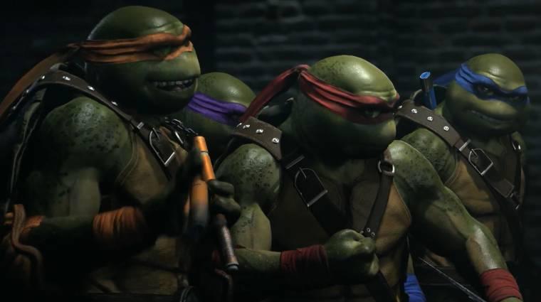 Injustice 2 - csatlakoznak a Tini nindzsa teknőcök bevezetőkép