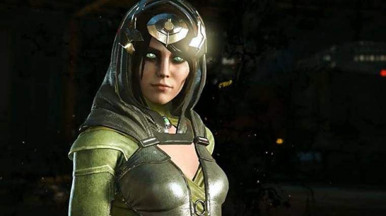 Injustice 2 - Enchantress nem viccel, ha bunyóról van szó bevezetőkép