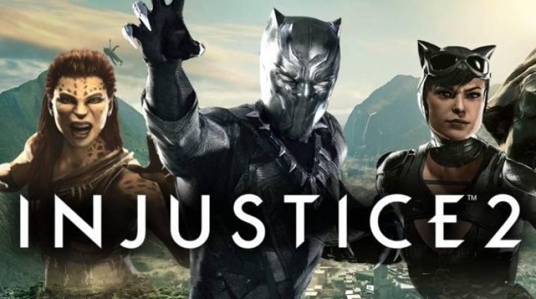 Injustice 2 - Black Panther is csatlakozik a harchoz? bevezetőkép