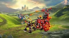 LEGO NEXO Knights - steampunk szekér kattant udvari bolonddal kép