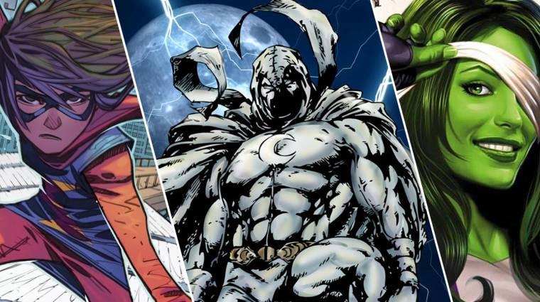 Önálló tévésorozatot kap Holdlovag, She-Hulk és Ms. Marvel! kép