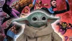 Bébi Yoda segítségével jutottak be a Marvel hősei egy kaszinóba kép