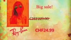 Olcsósított márkás napszemüvegek kép