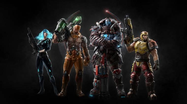 Quake Champions - teljesen eltűnnek a loot boxok, megváltozik a fejlődési rendszer bevezetőkép