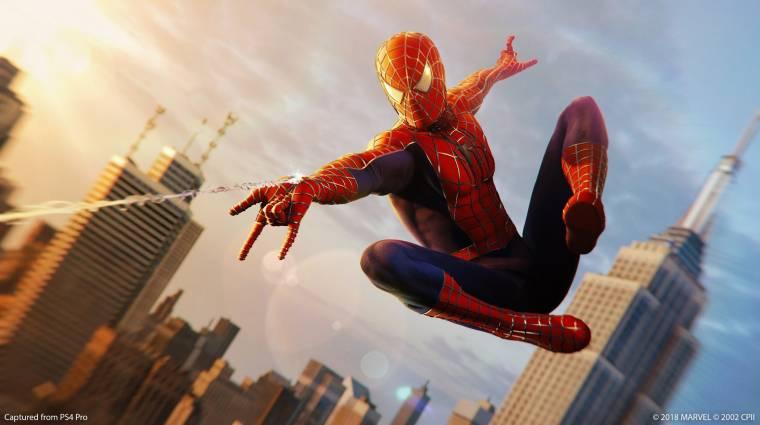 Ekkor jöhet a Marvel's Spider-Man 2 bevezetőkép