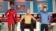 Napi büntetés: ilyenek lesznek a Star Trek Barbie babák kép