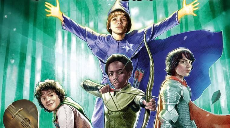 A Stranger Things csapata leül egy D&D kalandra, amit ezúttal be is fognak fejezni bevezetőkép