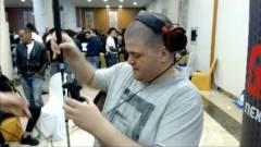 Egy vak játékos is indult egy Street Fighter V versenyen, és elég jól játszott kép