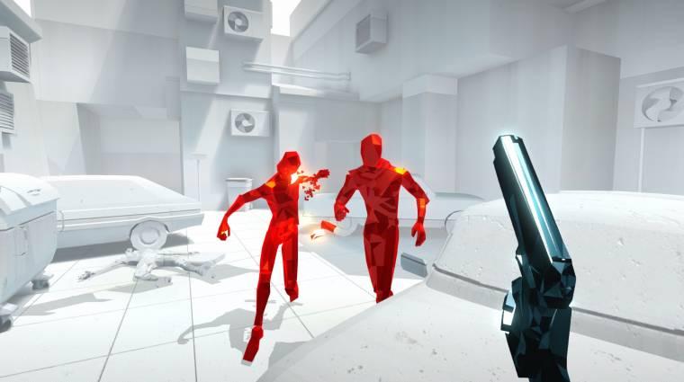E3 2017 - PSVR-ra is megjelenik a Superhot VR bevezetőkép