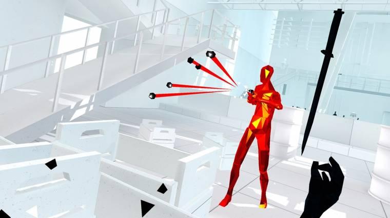 Superhot - egy napon jön a PS4-es és PSVR-os változat bevezetőkép