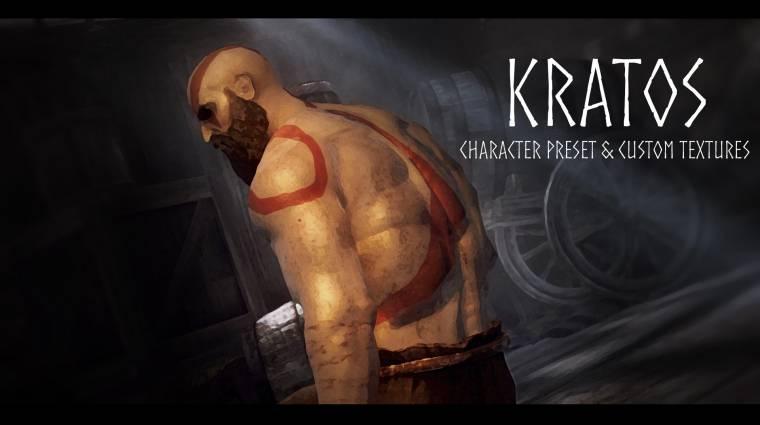 Már Kratos is lehetsz a Skyrimben bevezetőkép