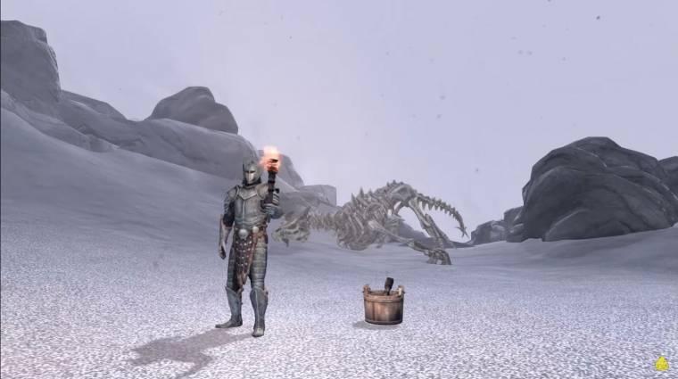The Elder Scrolls V: Skyrim - egy játékos úgy játszotta végig, hogy mindenkit fáklyával vert el bevezetőkép