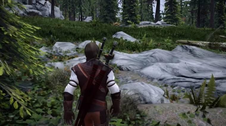 Akár a Skyrimben is harcolhatsz úgy, mint a The Witcher játékokban bevezetőkép