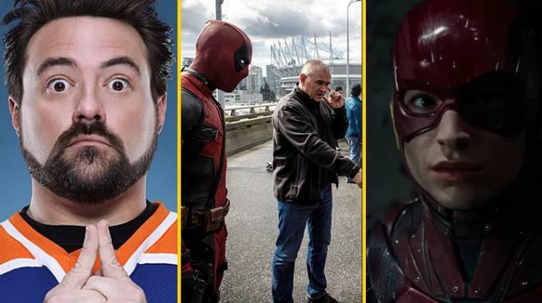 Kevin Smith a Deadpool rendezőjét akarja a Flash film élére kép