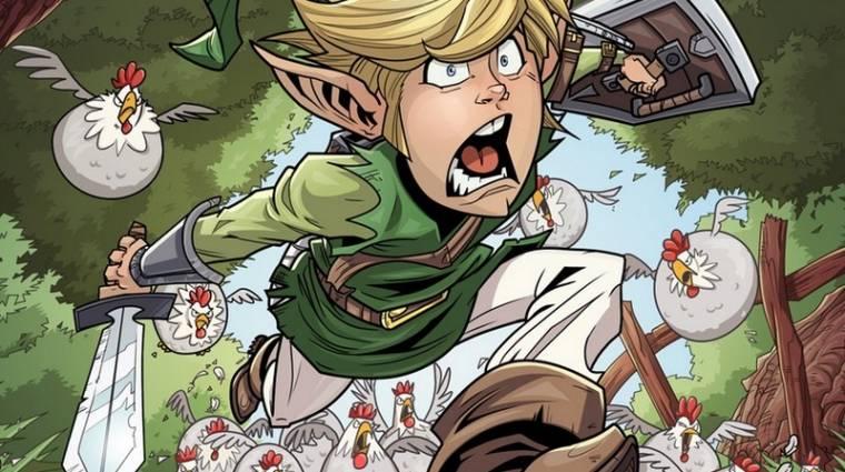 The Legend of Zelda: Breath of the Wild - így lett fegyver a csirkékből bevezetőkép