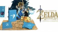 Ezt a gyönyörű The Legend of Zelda: Breath of the Wild könyv nem hiányozhat a rajongók polcáról kép