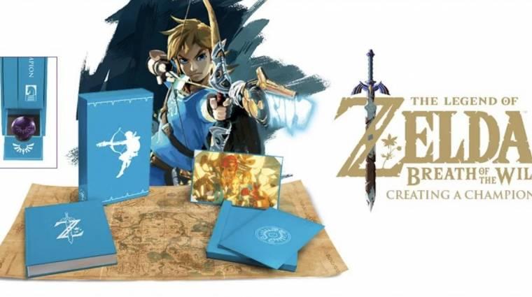 Ezt a gyönyörű The Legend of Zelda: Breath of the Wild könyv nem hiányozhat a rajongók polcáról bevezetőkép