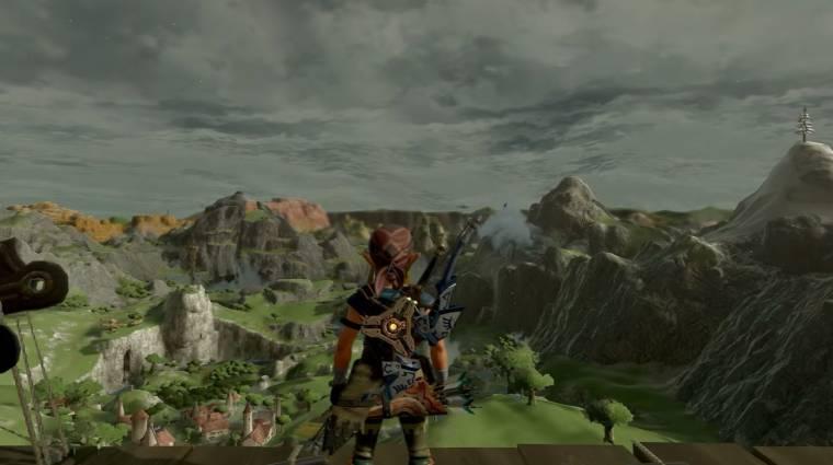 The Legend of Zelda: Breath of the Wild - szinte rá sem ismerünk cel shading nélkül bevezetőkép